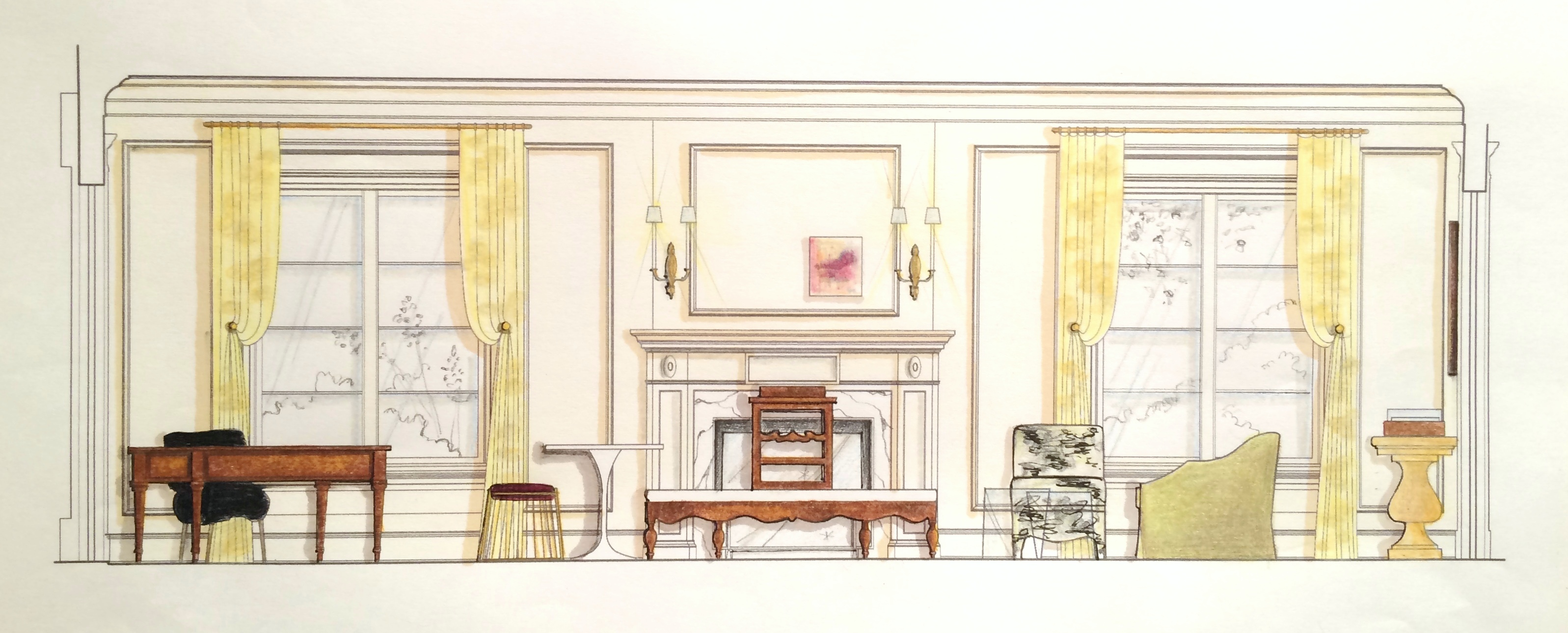 dc design house 2016 drawing huntley & co.