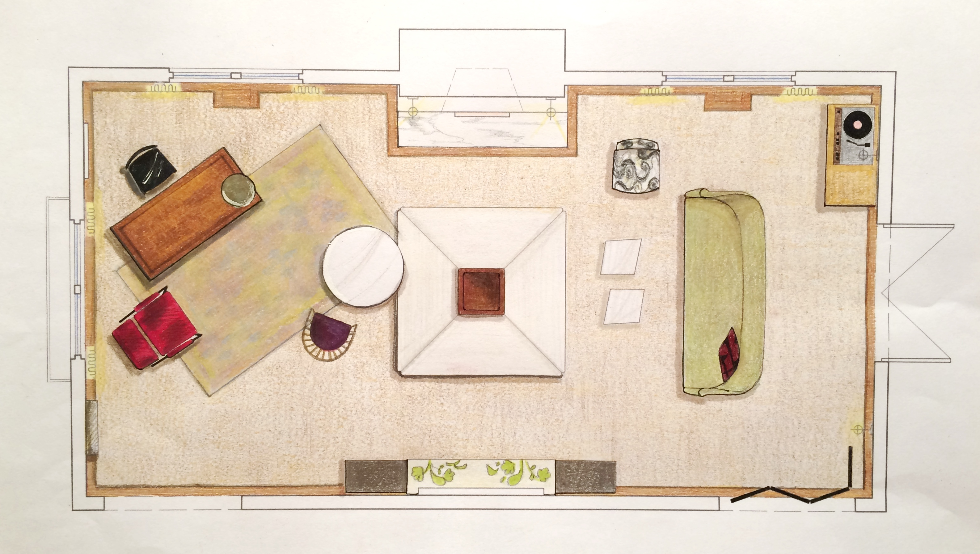 dc design house 2016 floor plan huntley & co.